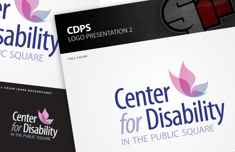 Center For Disability in the Public Square Logo Design