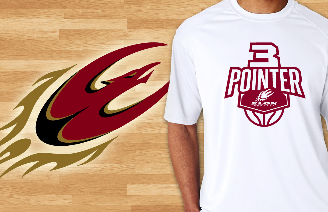 elon university basketball t shirt design sports design - Basketball T Shirt Design Ideas