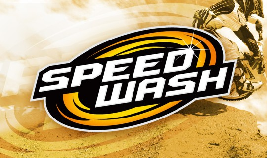 Speedwash Logo Design - Motorsports Cleaning Product