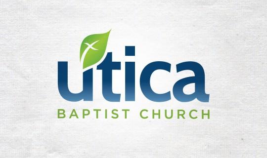 Utica Baptist Church Logo Design