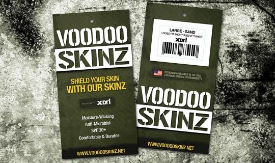 VooDoo Skinz Hangtag
