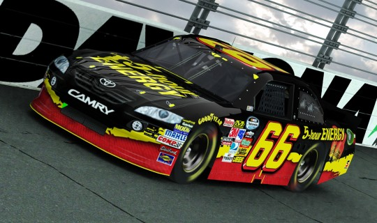 NASCAR Paint Scheme Design
