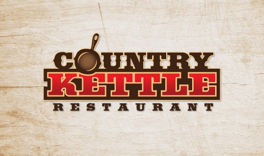 Country Kettle Restaurant Logo Design
