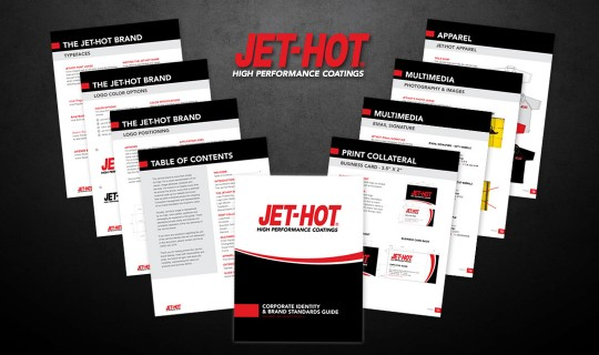 Jet-Hot Brand Standards Guide Design