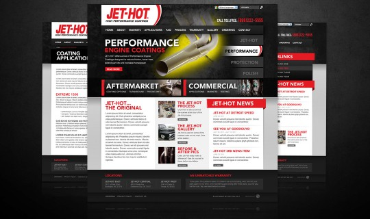 Jet-Hot Website Design