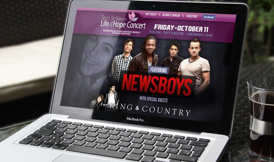 Life & Hope Concert featuring the Newsboys