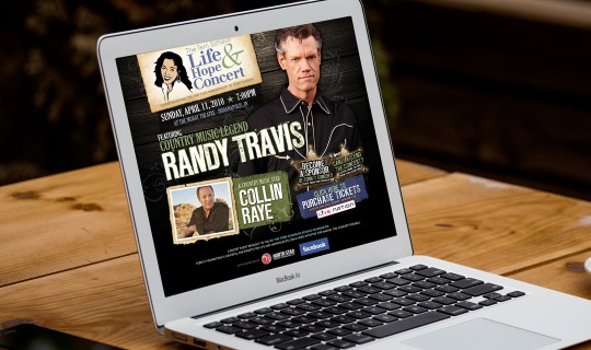 Life & Hope Concert featuring Randy Travis