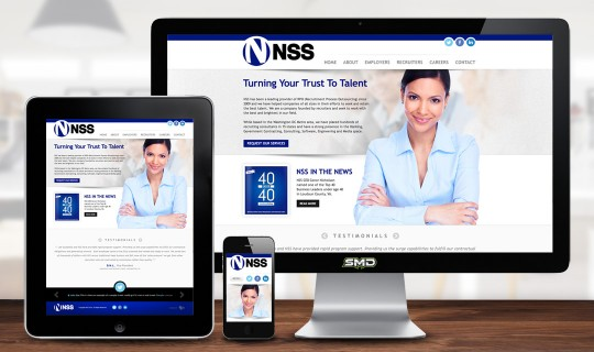 NSS Website Design