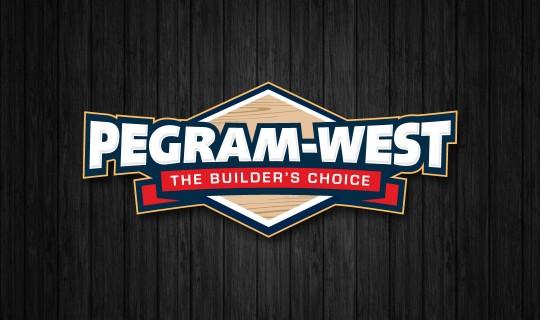 Pegram-West Builders Logo Design