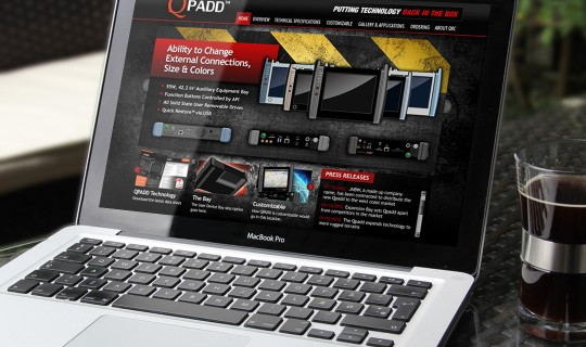 Qpadd Website Design