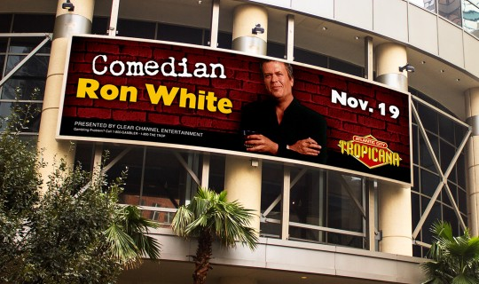 Ron White Billboard