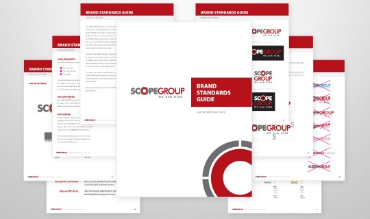SCOPE GROUP Brand Standards Guide Design