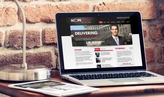Scope Group Website Design