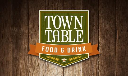 Town Table logo design
