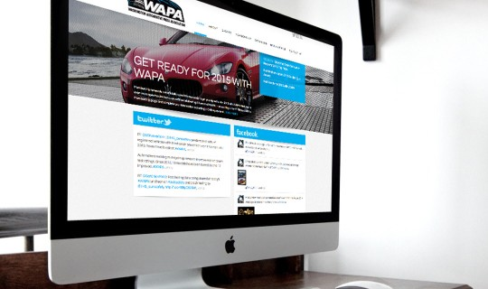 WAPA Website Design