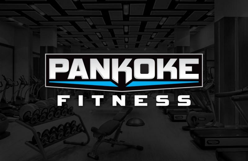 Pankoke Fitness Logo Design