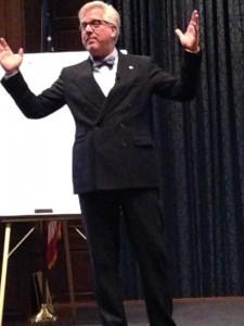 Glenn Beck Speaking at the Life and Hope Award Gala