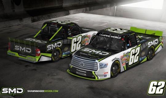 SMD NASCAR Paint Scheme Design