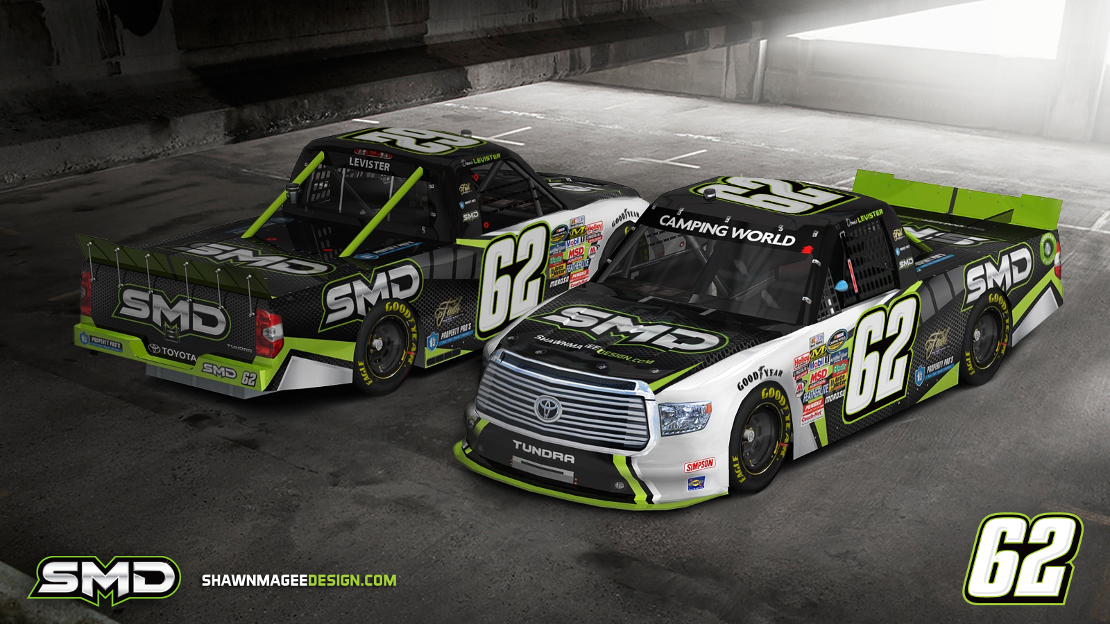 Tundra Racing Series >> SMD Nascar Paint Scheme Design | Motorsports Design