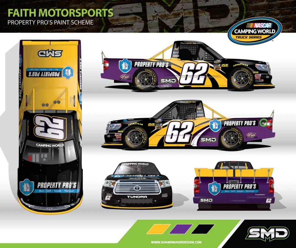 #62 Toyota Tundra NASCAR