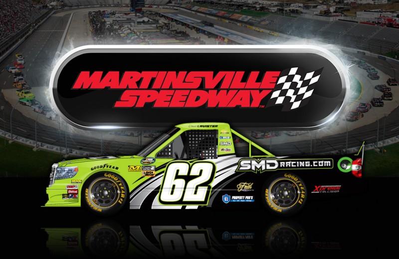 SMD Toyota - Donnie Levister - Martinsville Speedway - NASCAR