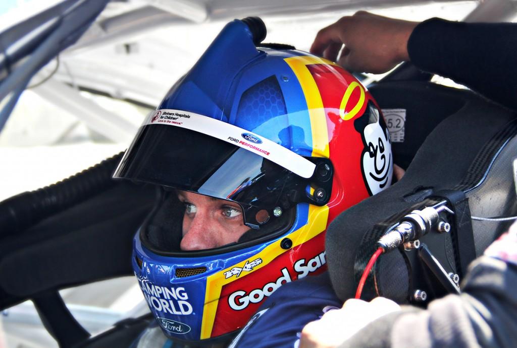 David Ragan NASCAR helmet design