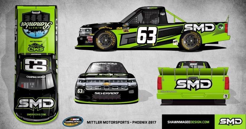 Mittler Motorsports #63 SMD Phoenix