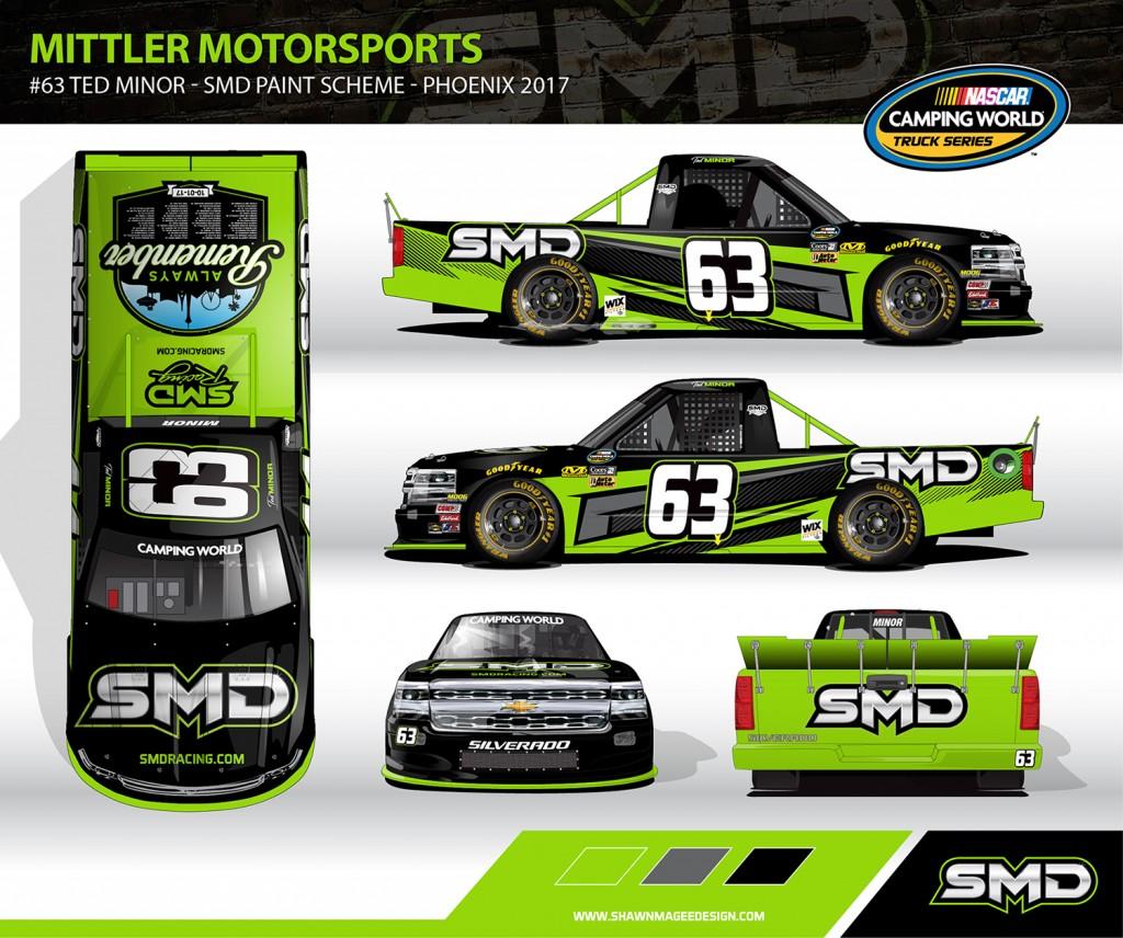 Mittler Motorsports #63 SMD Truck