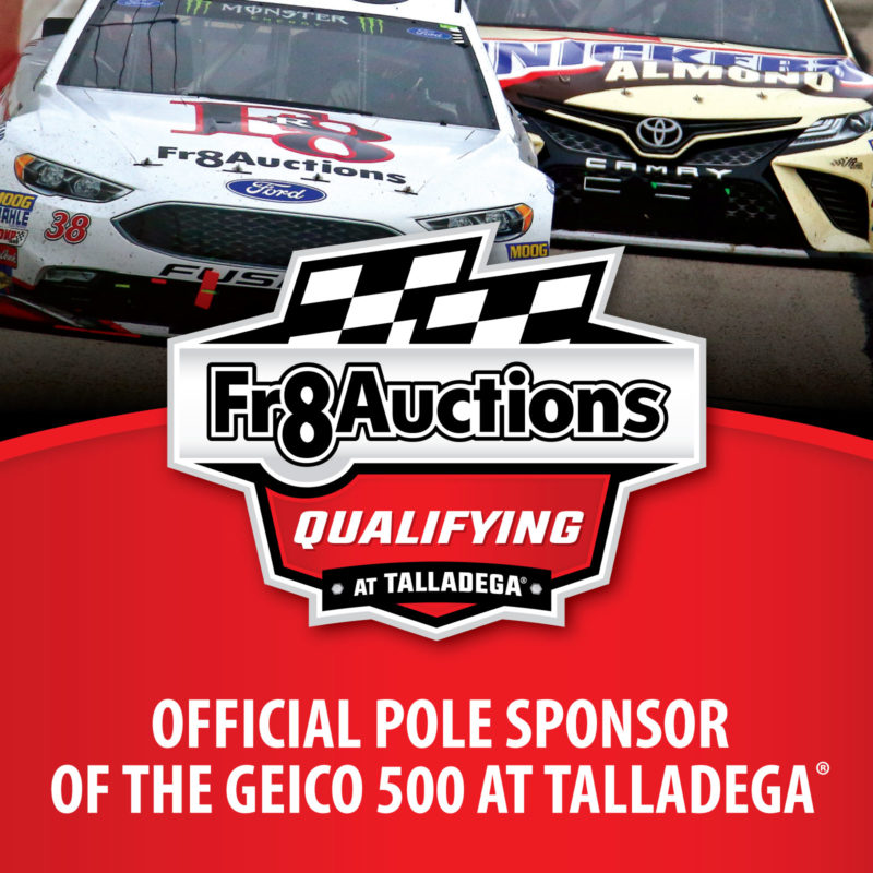Fr8Auctions Qualifying at Talladega logo