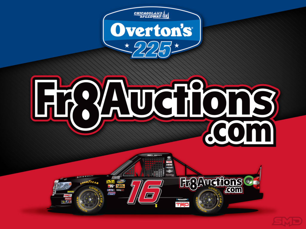 Brett Moffitt Fr8Auctions social graphic promo