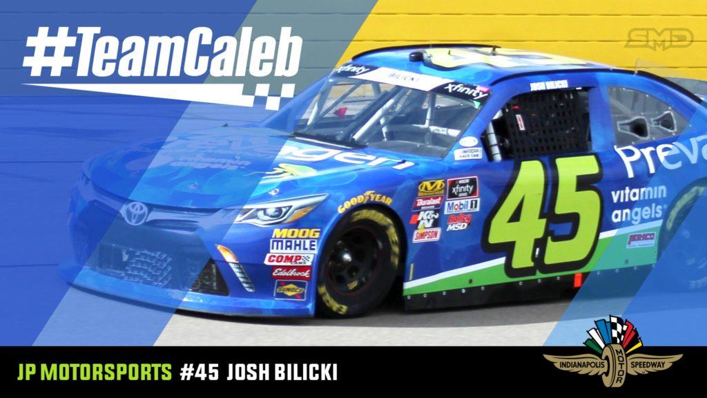 Josh Bilicki Indianapolis Motor Speedway NASCAR