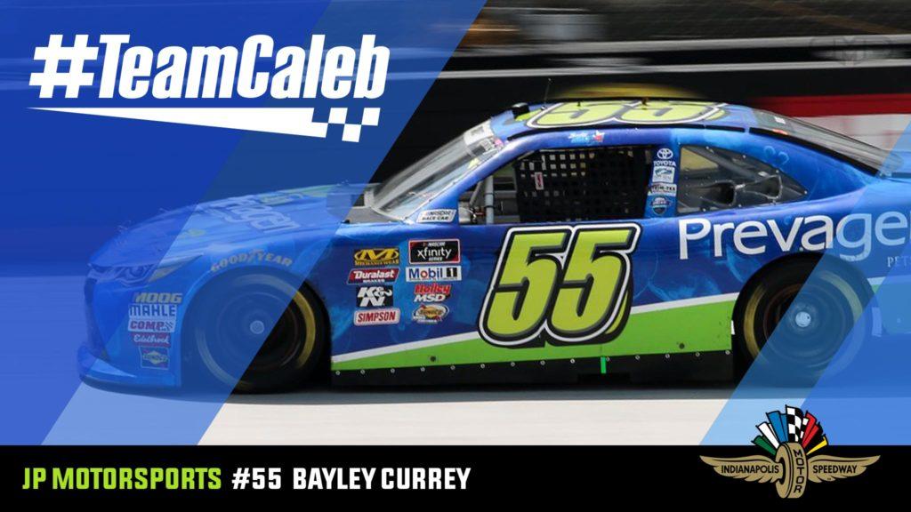 Bayley Currey Indianapolis Motor Speedway NASCAR
