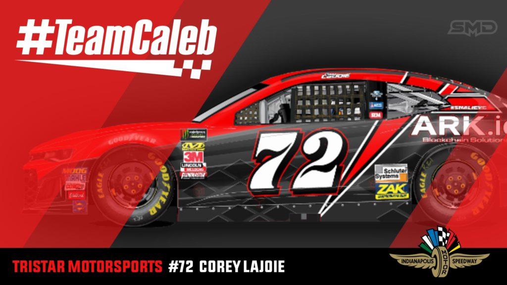 Corey LaJoie Indianapolis Motor Speedway NASCAR