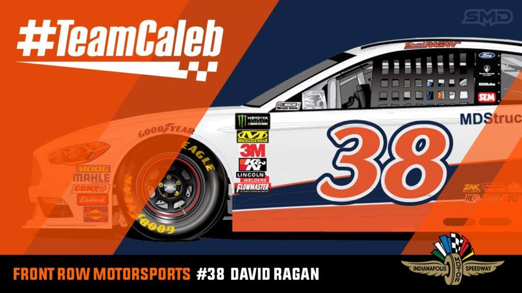 David Ragan Indianapolis Motor Speedway NASCAR