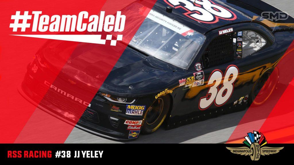 JJ Yeley Indianapolis Motor Speedway NASCAR