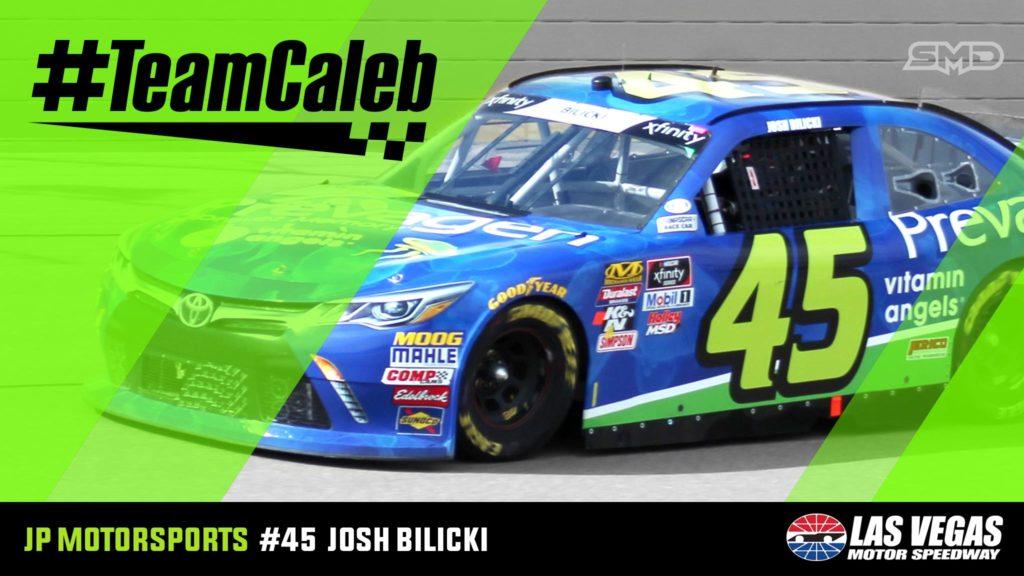 Josh Bilicki #TeamCaleb JP Motorsports Las Vegas Motor Speedway