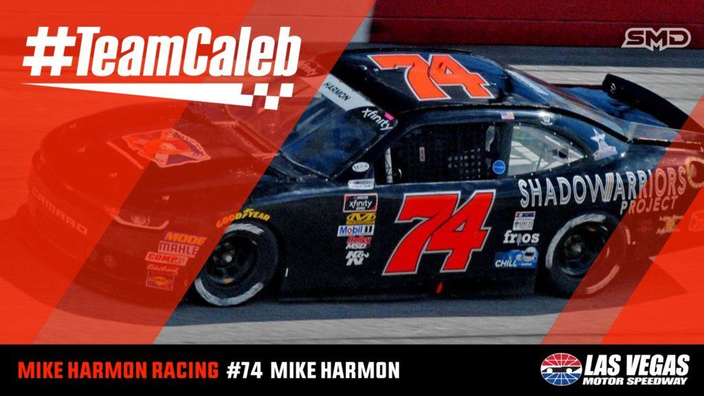 Mike Harmon #TeamCaleb Las Vegas Motor Speedway
