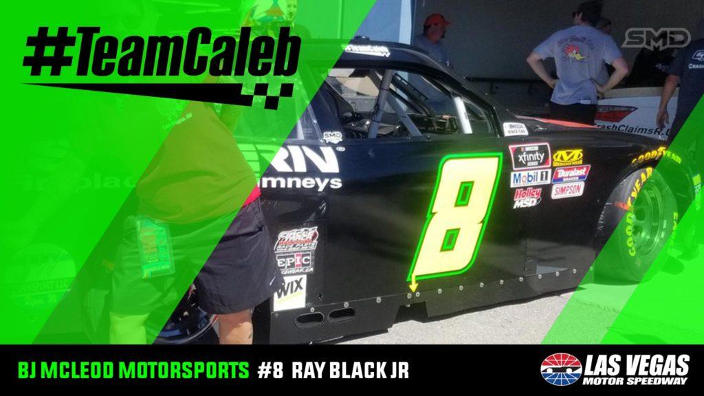 Ray Black Jr BJ McLeod Motorsports Las Vegas Motor Speedway