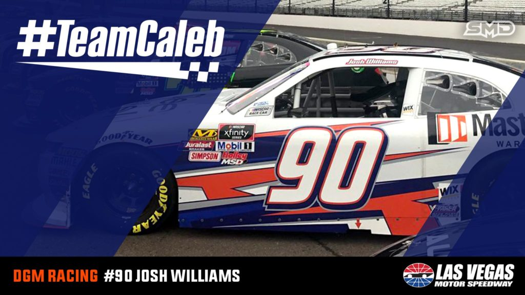 Josh Williams DGM Racing #TeamCaleb Las Vegas Motor Speedway