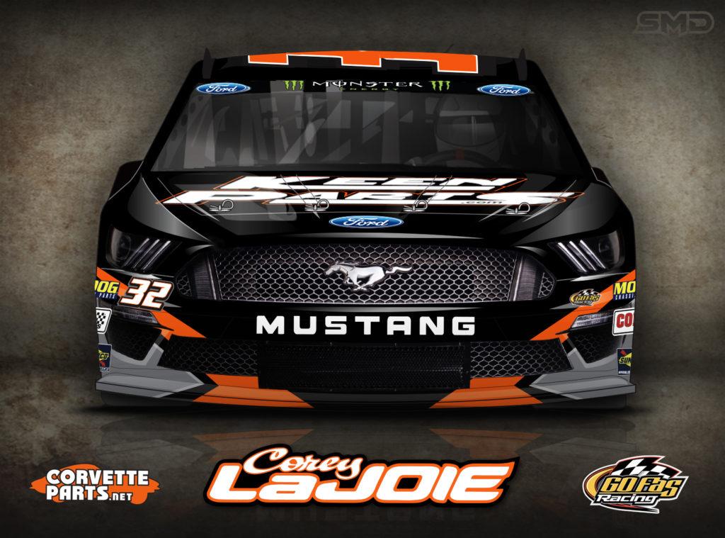 Keen Parts Corey LaJoie NASCAR Paint Scheme