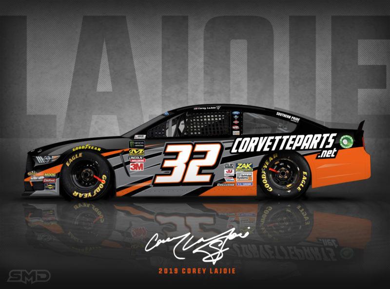 SMD | Paint Scheme Design for NASCAR Cup Series Team