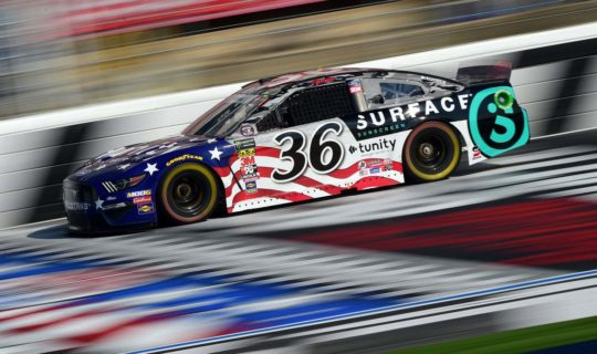 Matt Tifft in the CocaCola 600 at Charlotte Motor Speedway