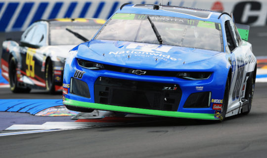 The Nationwide Insurance #88 of Alex Bowman in the Bank of America ROVAL 400 at Charlotte Motor Speedway